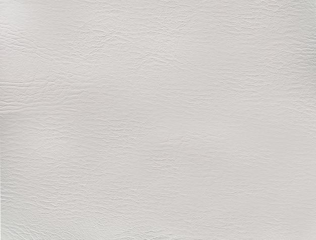 Texture de cuir blanc ou fond