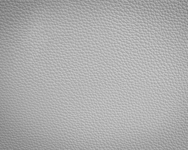 Texture de cuir blanc
