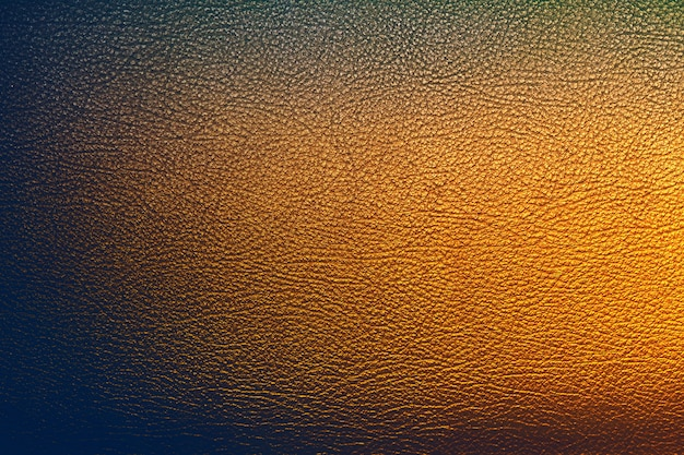 Texture de cuir doré avec surface simple