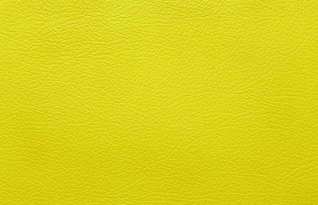 Texture de cuir jaune