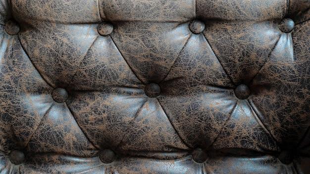 Texture de cuir marron pour le fond.