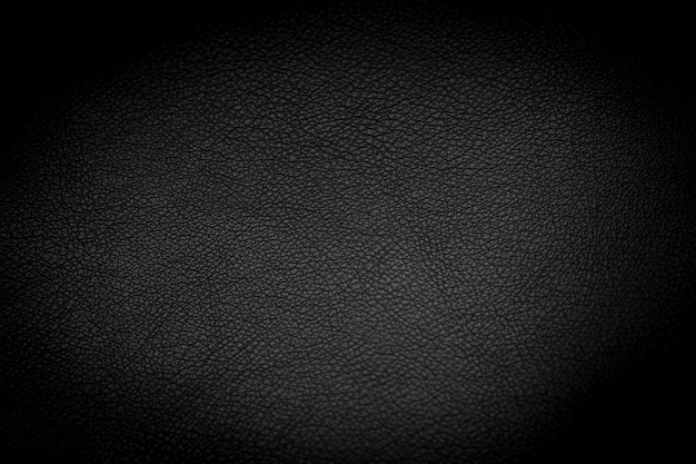 Texture de cuir noir de luxe