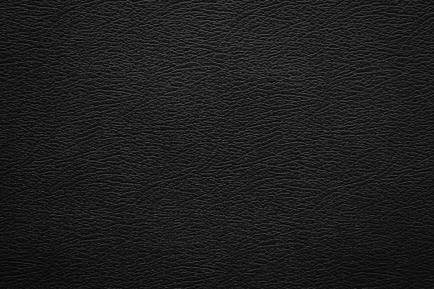 Texture de cuir noir et