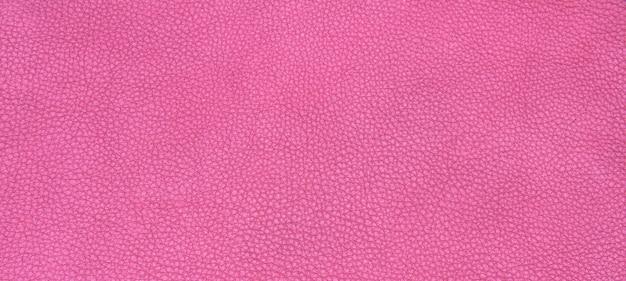 Texture en cuir rose
