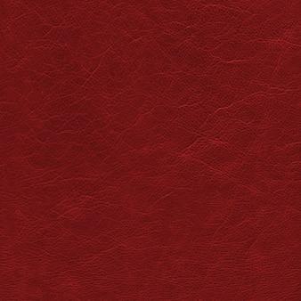 Texture de cuir rouge foncé