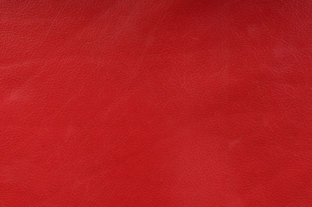 Texture de cuir rouge véritable pour le fond