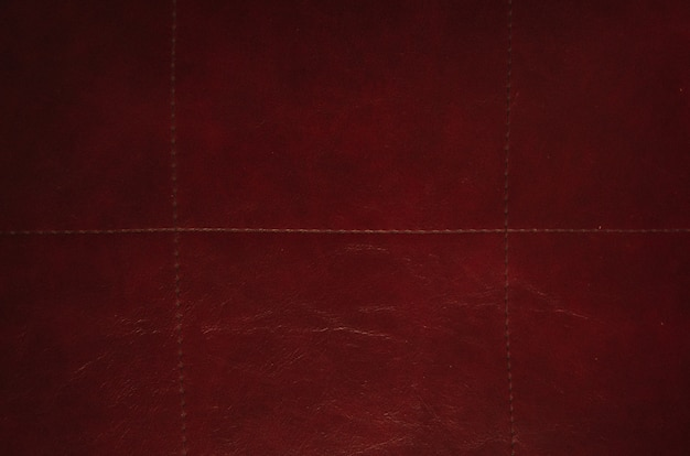Texture cuir rouge