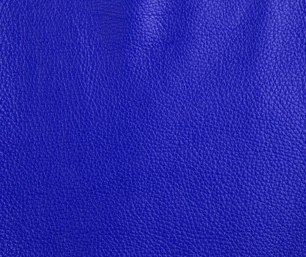 Texture de cuir de vache bleu foncé, full frame