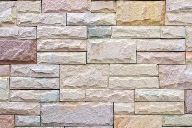 Texture de décoration de mur de brique