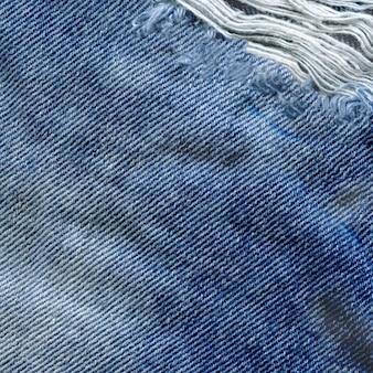 Texture de denim propre naturel closeup view bleu.