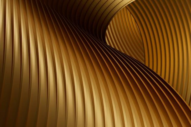 Texture Dorée Abstraite Créative Photo gratuit
