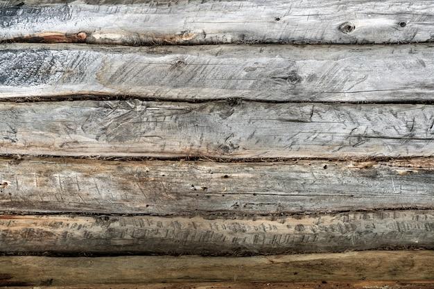 La texture du bois ancien avec des motifs naturels