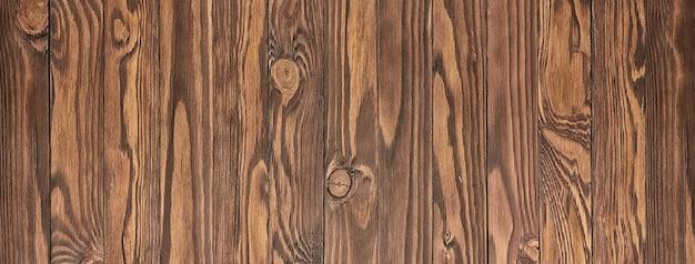 Texture du bois brun, fond de planche de bois