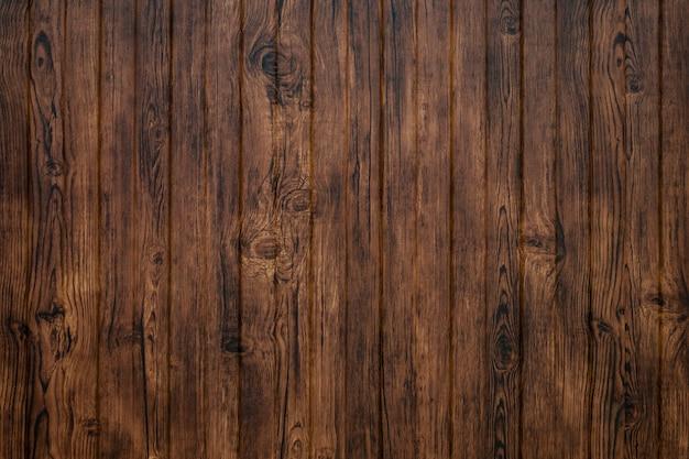 La texture du bois brun avec des motifs naturels