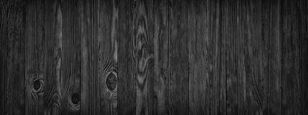Texture du bois noir comme arrière-plan