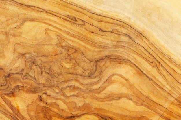 Texture du bois d'olivier naturel, fond coupé en bois.