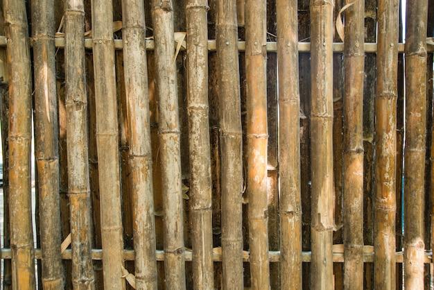 La texture du bois de la passerelle un naturel