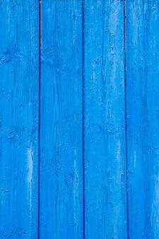 Texture du bois porte bleue