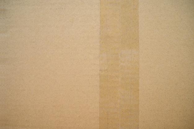 La texture du carton peut servir de boîte en carton de fond