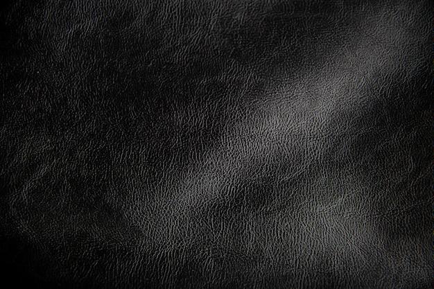 La texture du cuir noir, motif cuir. mur pour la conception