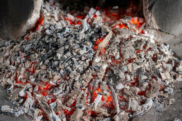 Texture du feu