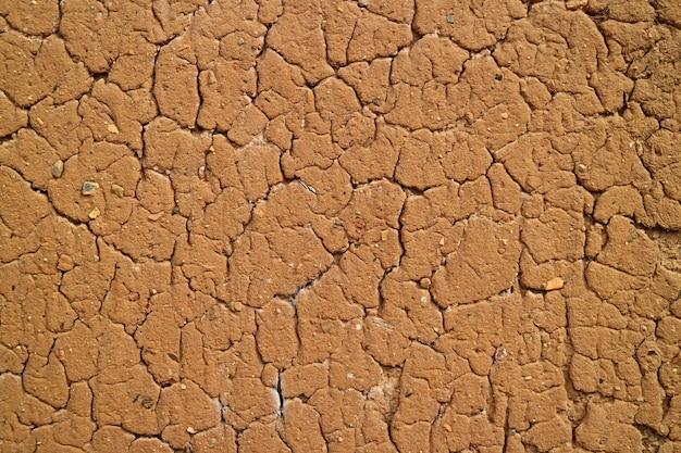 Texture du mur de sol rustique de couleur brun orange dans le nord du pérou pour le fond, la texture ou un motif