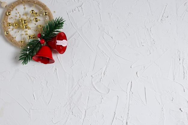 Texture du nouvel an à l'ambiance hivernale