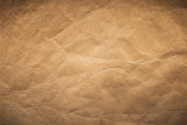 Texture du papier brun ancien, fond de papier vintage.