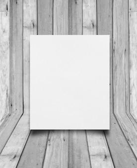 Texture du papier sur fond de bois