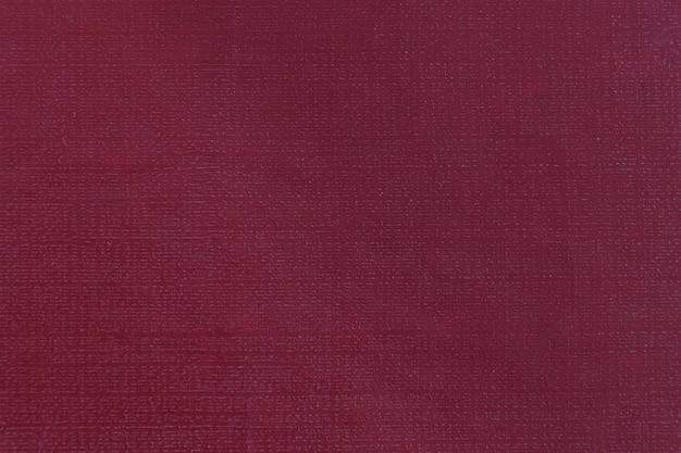 La texture du papier rouge