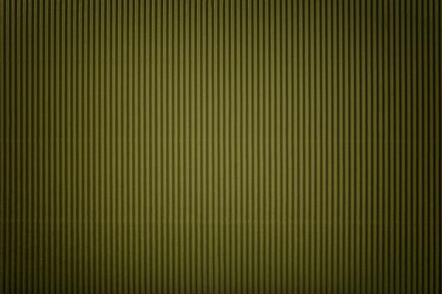 Texture du papier vert ondulé avec vignette