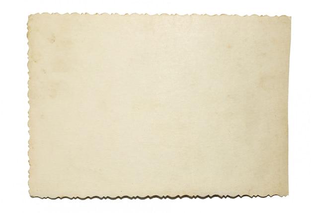 La texture du papier vieilli peut être utilisée comme arrière-plan