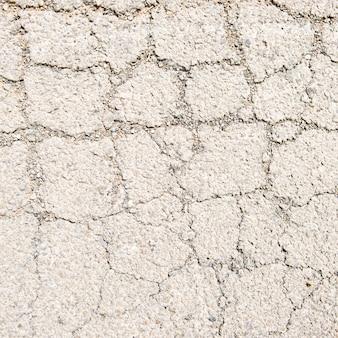 Texture du sol craqué