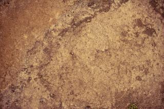 La texture du sol géothermique