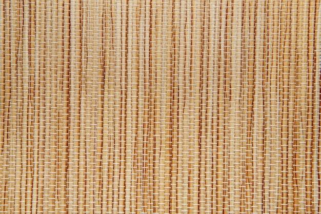 La texture du tapis de papier peut être utilisée pour le rideau vertical