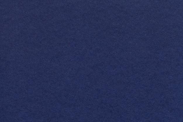 Texture du vieux closeup papier bleu marine.