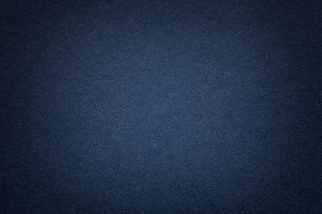 Texture du vieux fond de papier bleu marine