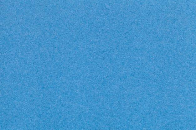Texture du vieux papier bleu closeup