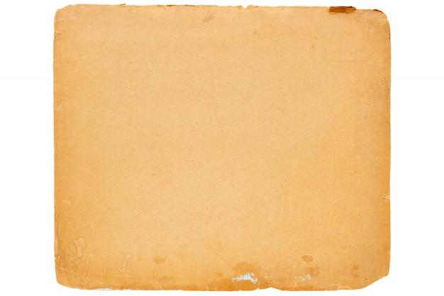Texture du vieux papier vintage jaune.