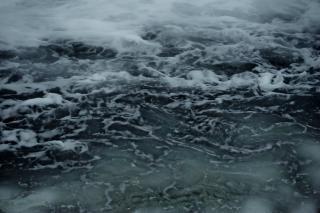 Texture de l'eau brûlante