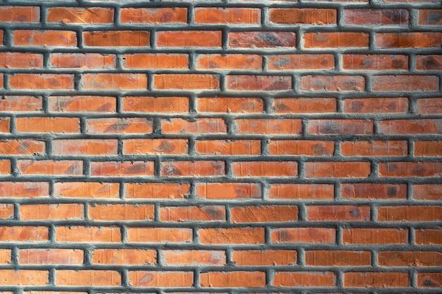 Texture empilée de mur de briques rouges