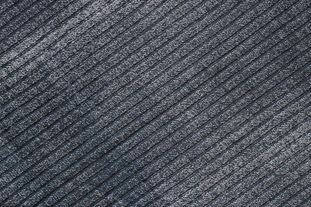 La texture est en tissu gris
