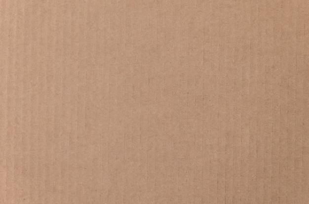 Texture de feuille de carton marron