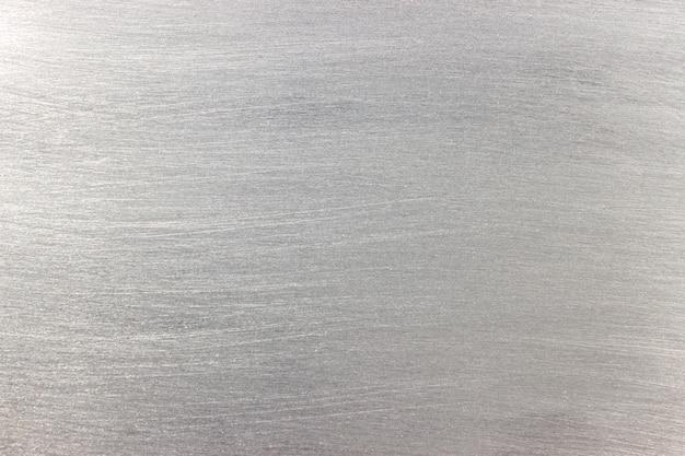 Texture d'une feuille de métal, fond gris clair