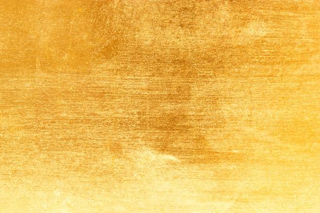 Texture feuille d'or jaune brillant