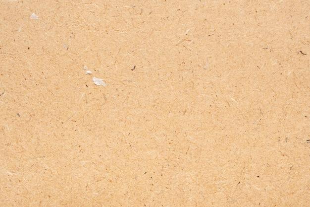 Texture de feuille recyclée de papier brun