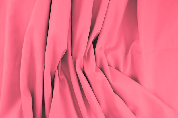 Texture de feuille de tissu coloré