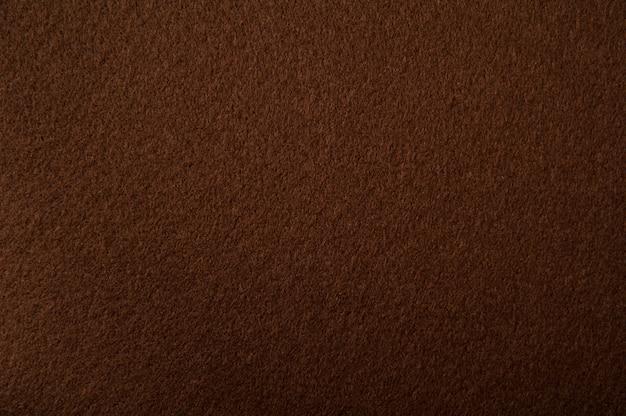 Texture de feutre brun pour le fond