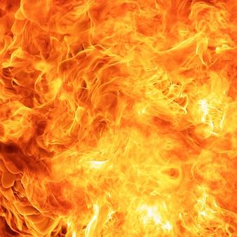 Texture de flamme de feu abstrait blaze