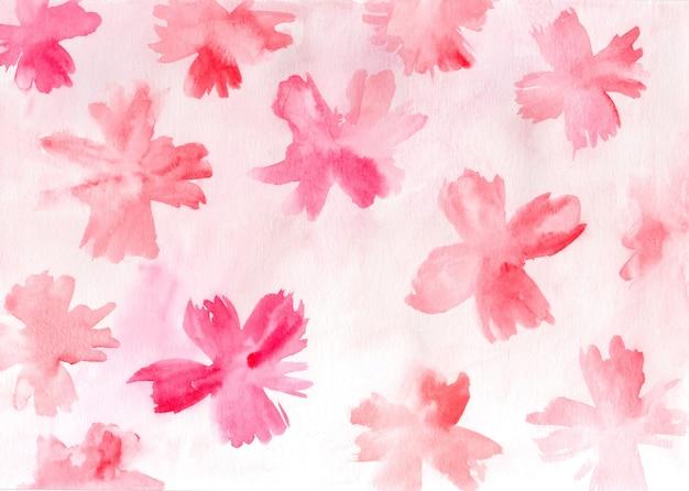 Texture florale créative aquarelle. fond coloré peint à la main artistique.